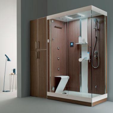 Ilma group idromassaggio vasche idromassaggio combinate - Vasche con cabina doccia ...