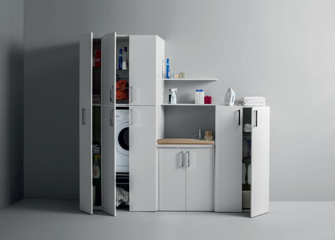 Ilma group idromassaggio vasche idromassaggio combinate for Mobili lavanderia